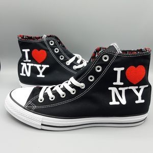 Converse I ❤️ NY Love New York Hi Tops All Stars